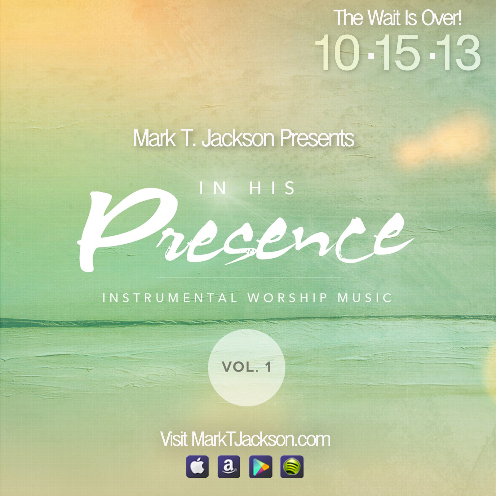In His Presence Advertisement